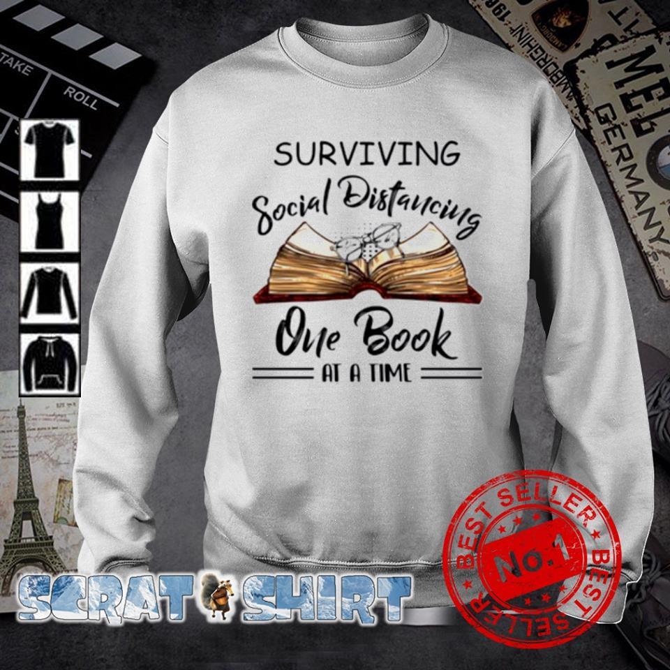 Surviving social distancing one book at a time s sweater