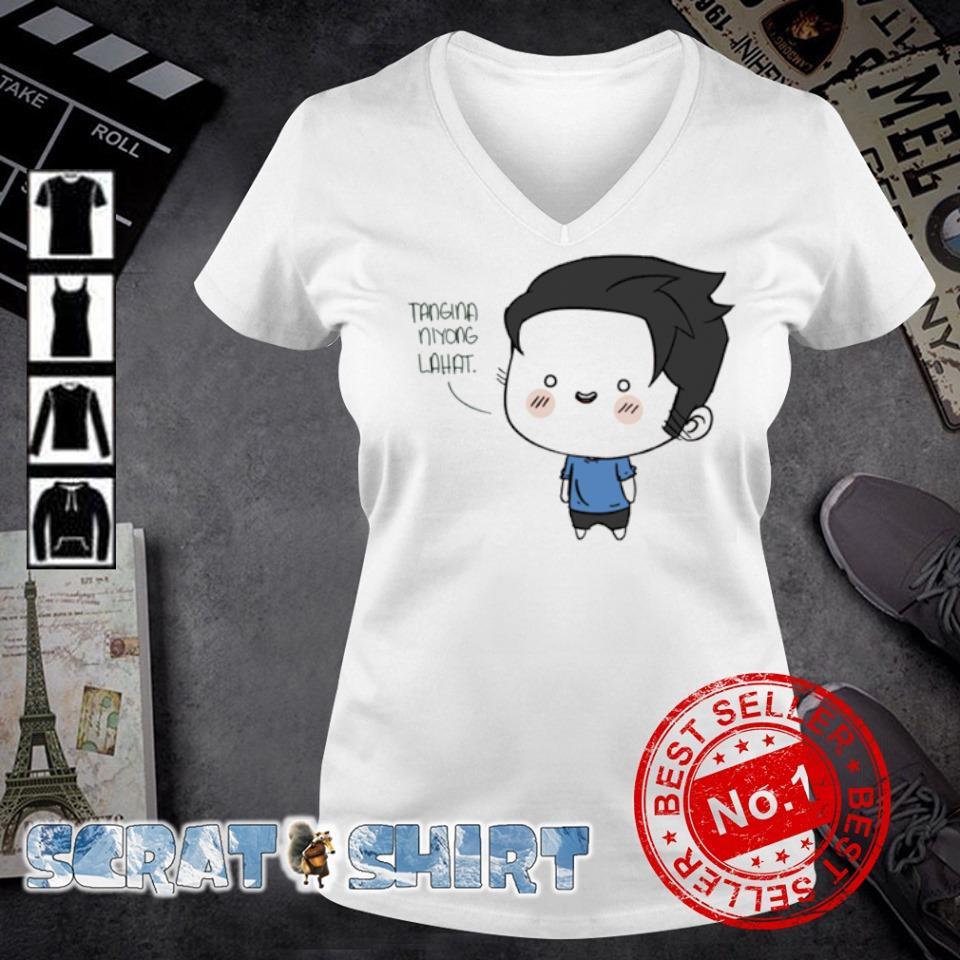 Tangina Niyong Lahat s v-neck t-shirt