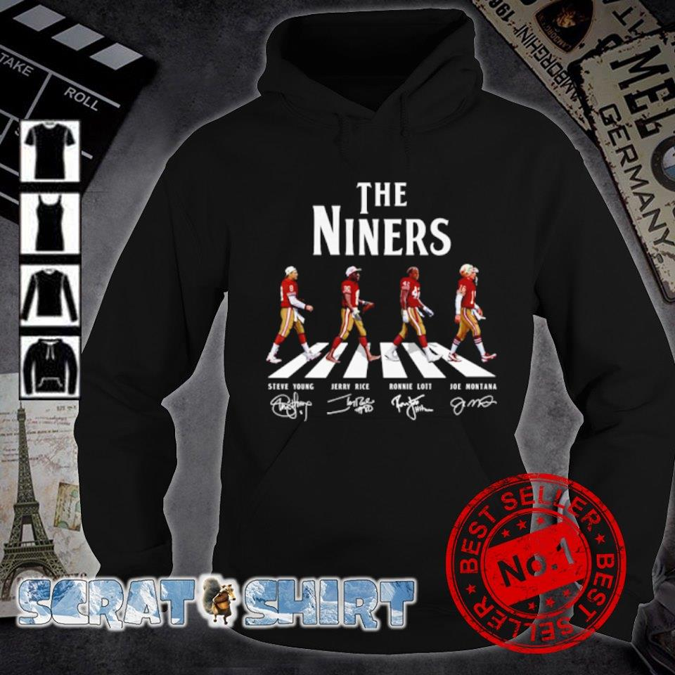The Niners abbey road signature s hoodie