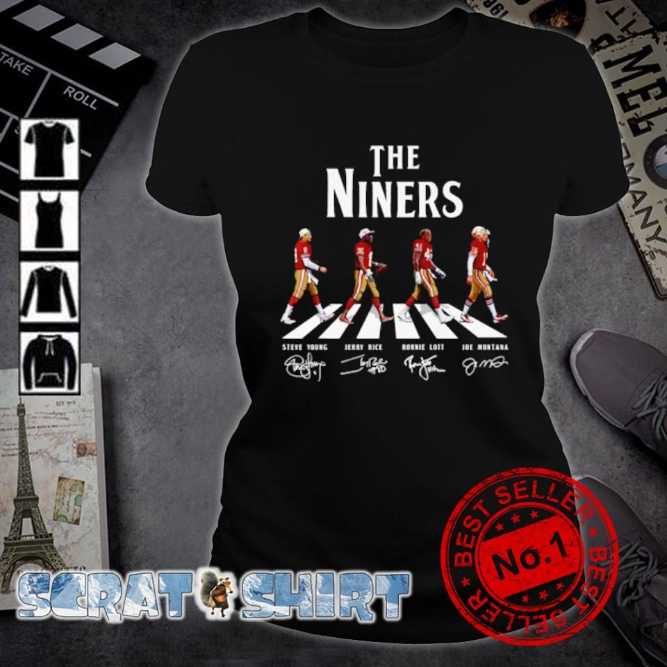 The Niners abbey road signature s ladies-tee