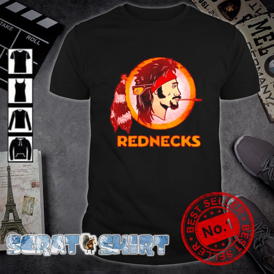 Washington Rednecks change the name football caucasian vintage shirt