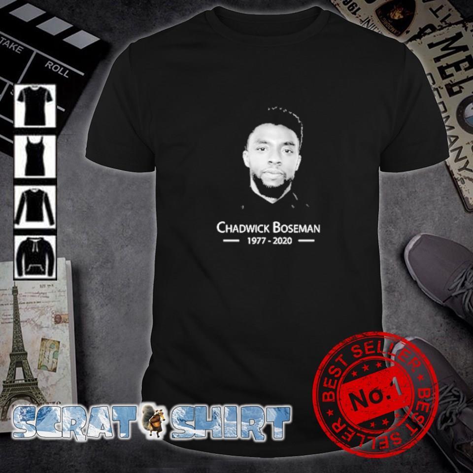 Chadwick Boseman 1977 2020 shirt