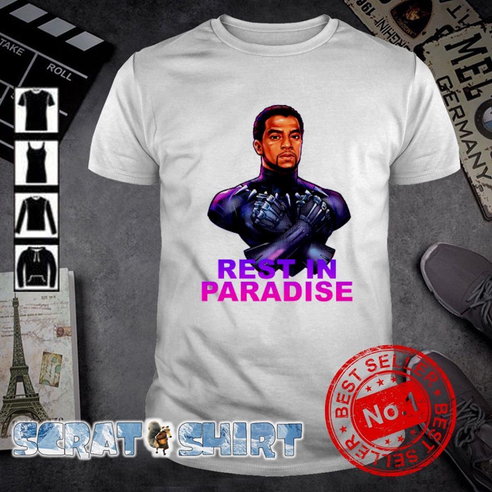 Chadwick Boseman Black Panther rest in paradise shirt