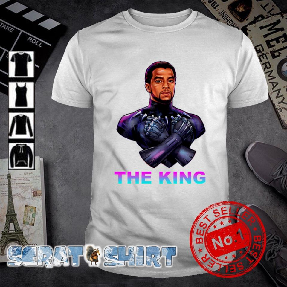 Chadwick Boseman Black Panther the king shirt