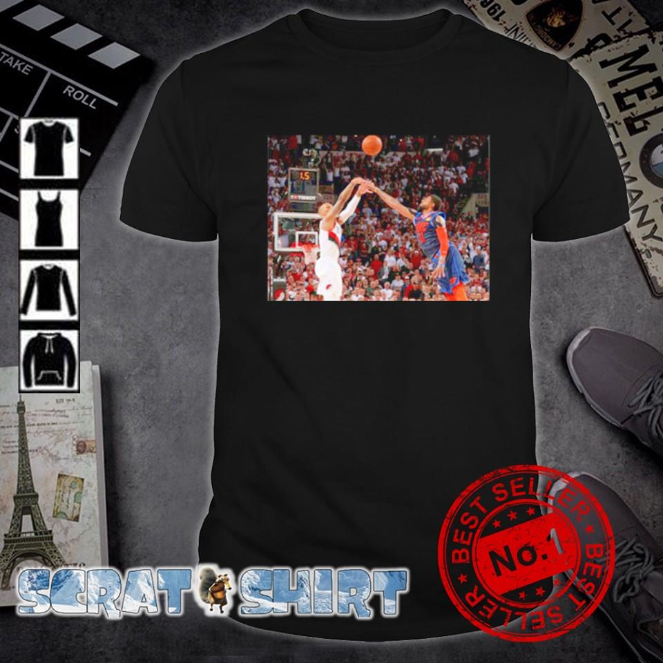 Damian Lillard and Paul George shirt