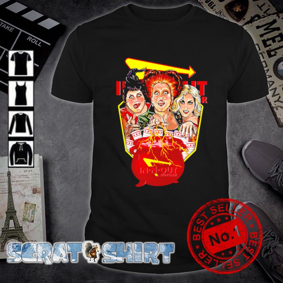 Hocus Pocus cooking In-n-out burger shirt