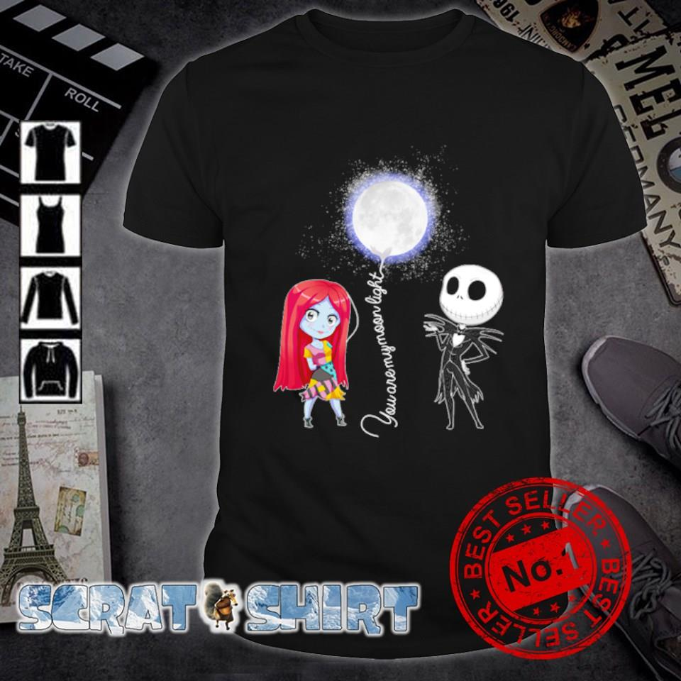 Jack and Sally you are my moon light shirt