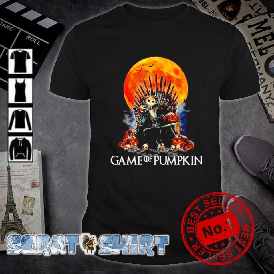 Jack Skellington Game of Thrones game of pumpkin shirt