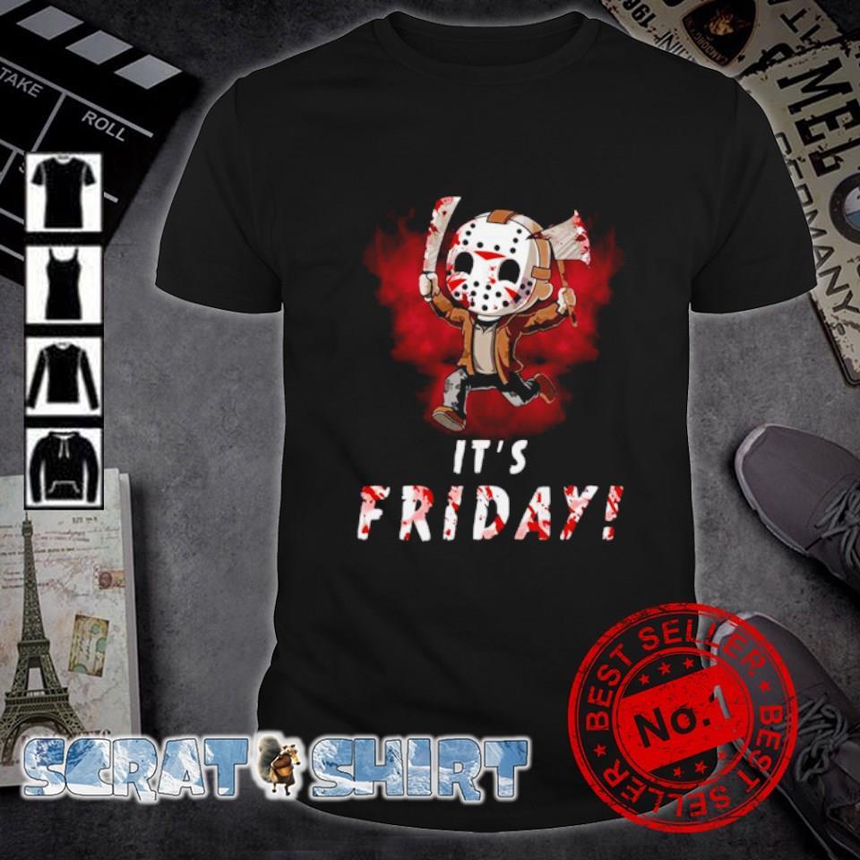 Jason Voorhees it's friday shirt