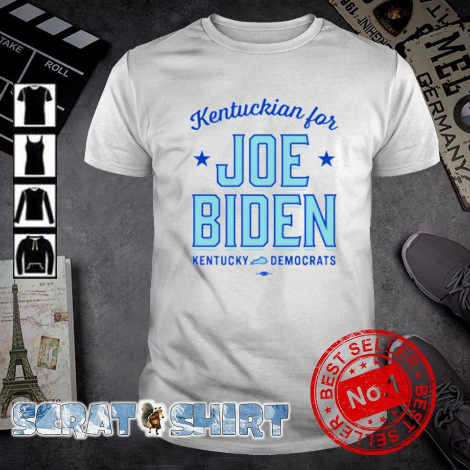 Kentuckian for Joe Biden kentucky democrats shirt