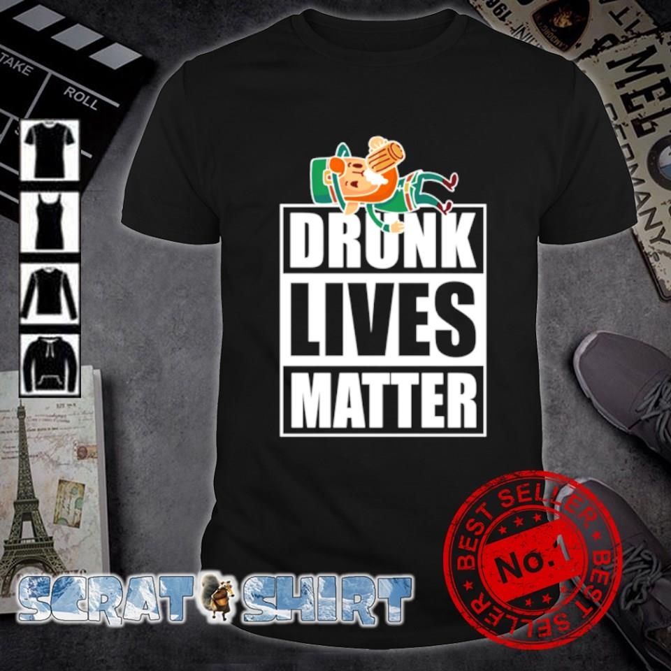 Leprechaun drunk lives matter shirt