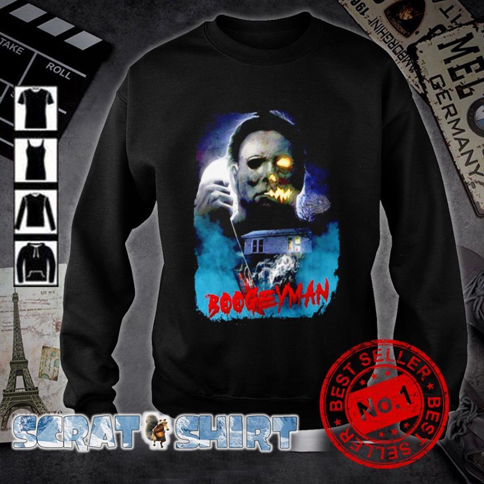 Michael Myers boogeyman Halloween s sweater