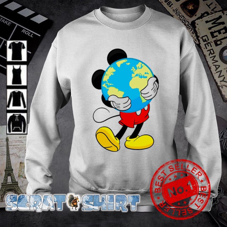 Mickey mouse hug earth s sweater