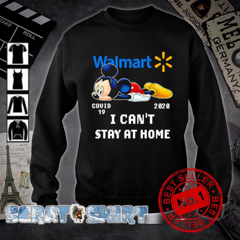 Mickey Walmart I can't stay at home s sweater