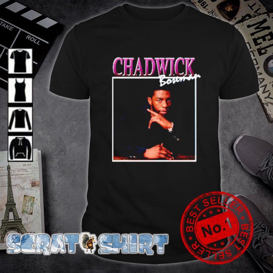 Rip Chadwick Boseman signature shirt