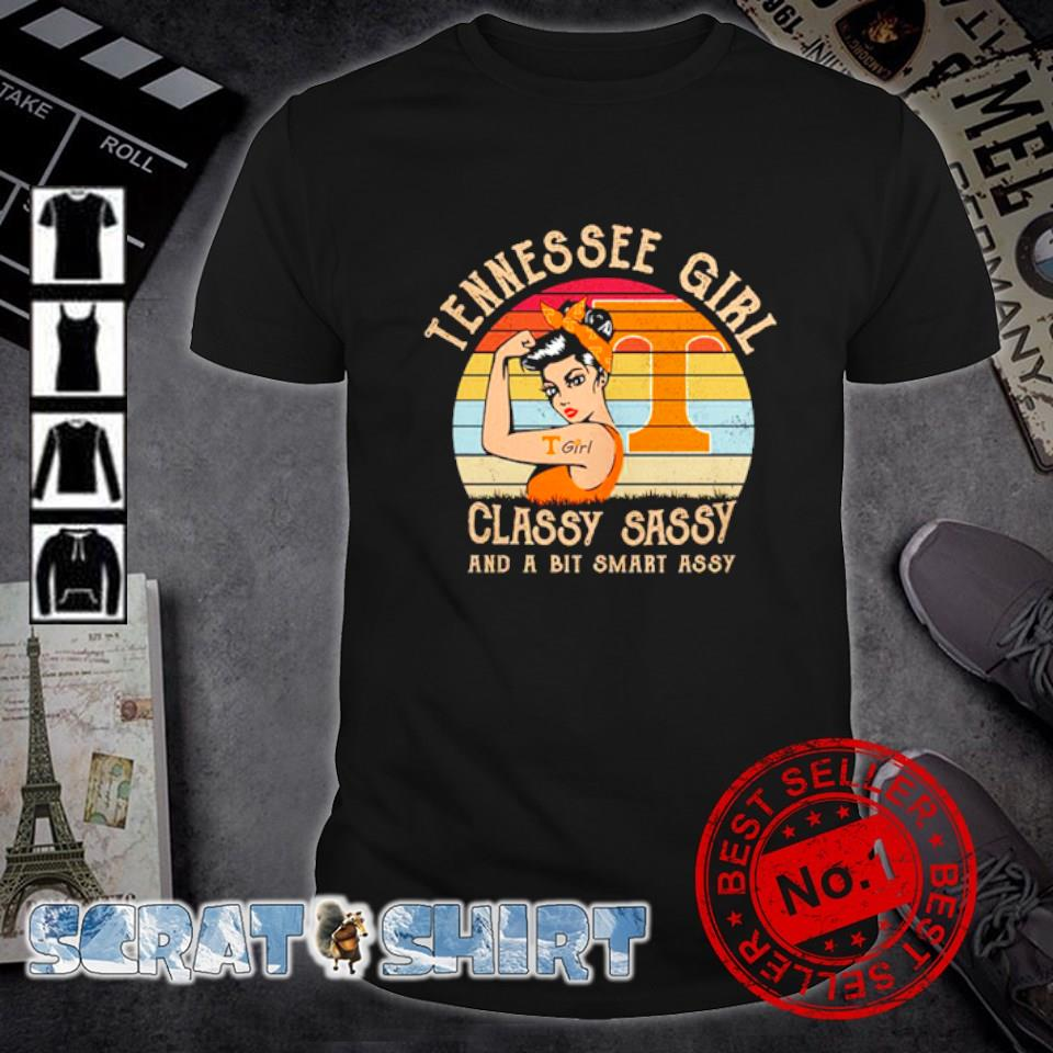 Tennessee girl classy sassy and a bit smart assy vintage shirt
