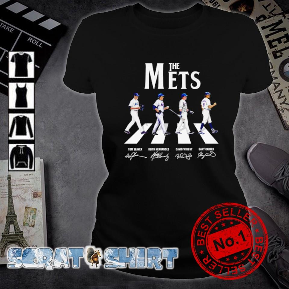The Mets Abbey Road signature s ladies-tee