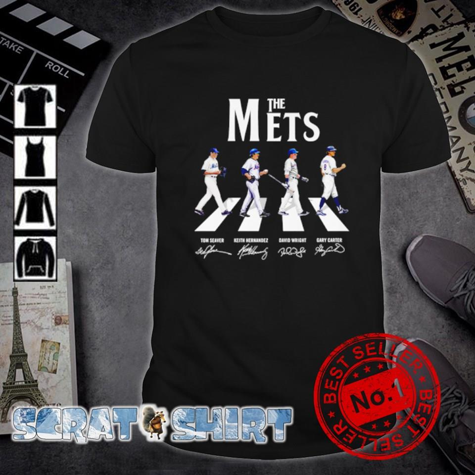 The Mets Abbey Road signature shirt