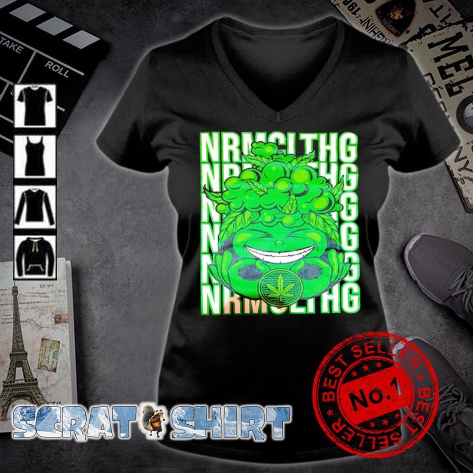 Weed nrmcithg nrmcithg s v-neck t-shirt
