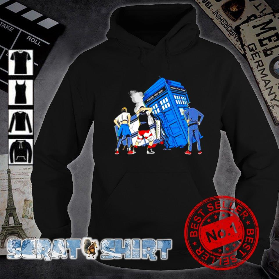 Bill and Ted Doctor Who colliding in time s hoodie