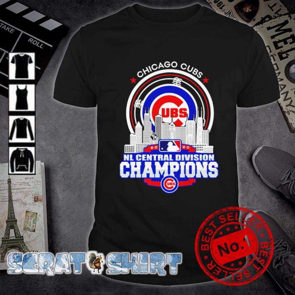 Chicago Cubs NL central division champions 2020 shirt