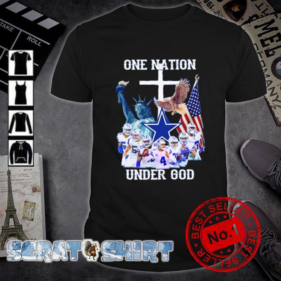 Dallas Coeboys one nation under God shirt