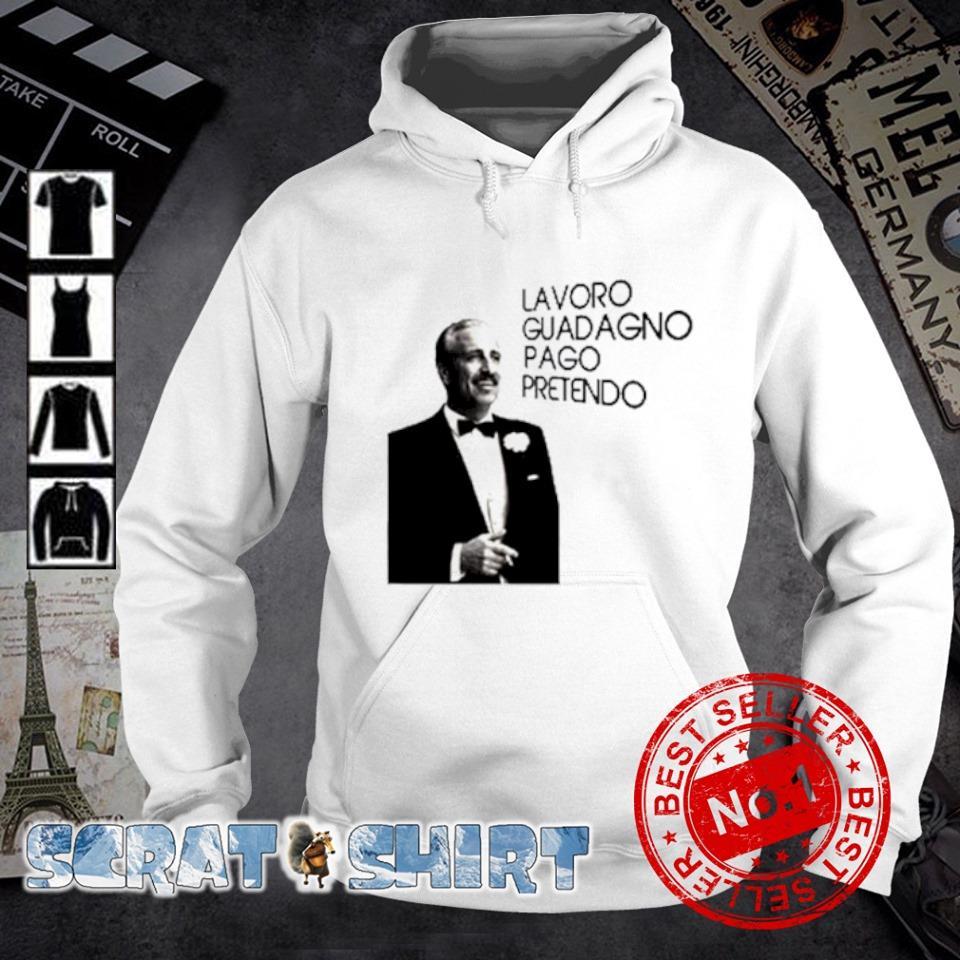 Guido Nicheli Lavoro guadagno pago pretendo s hoodie