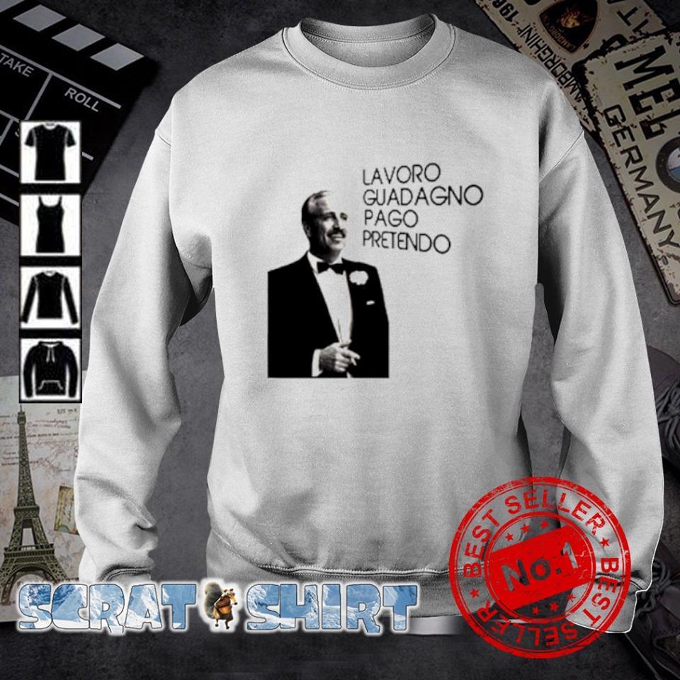Guido Nicheli Lavoro guadagno pago pretendo s sweater