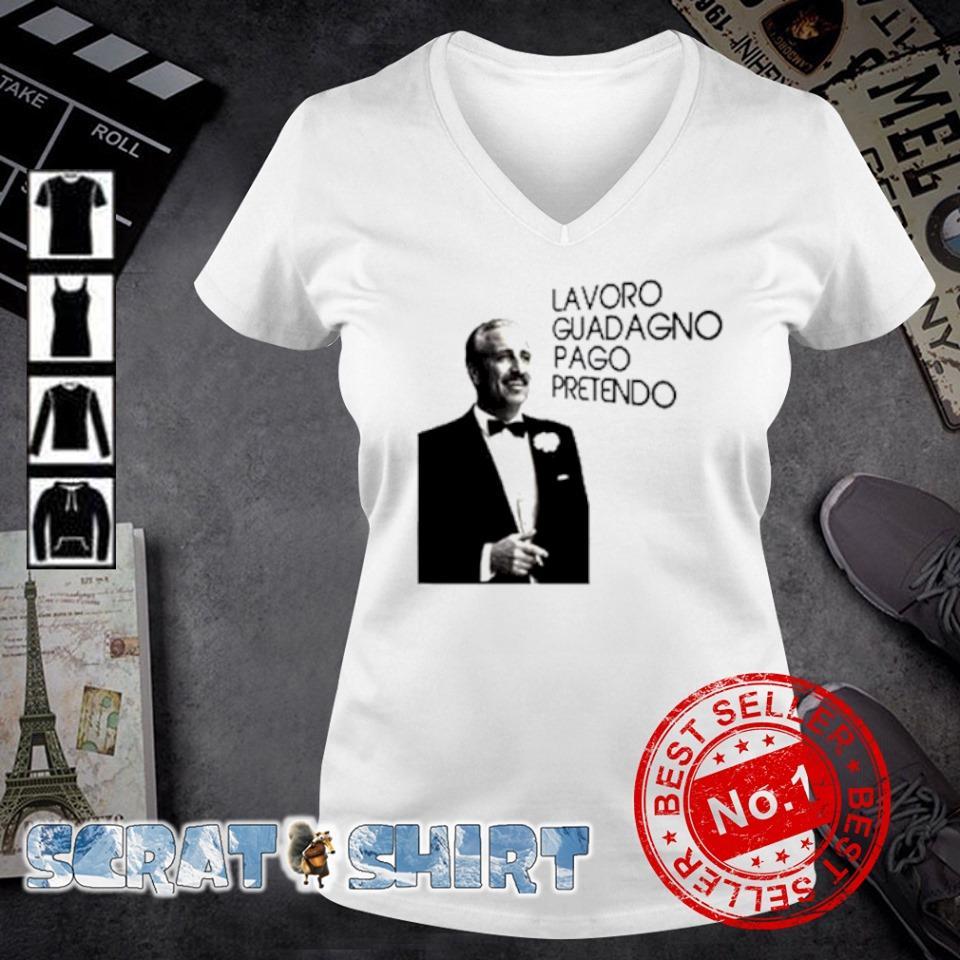 Guido Nicheli Lavoro guadagno pago pretendo s v-neck t-shirt