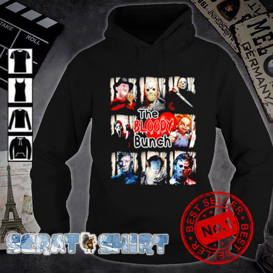 Horror characters the bloody bunch s hoodie