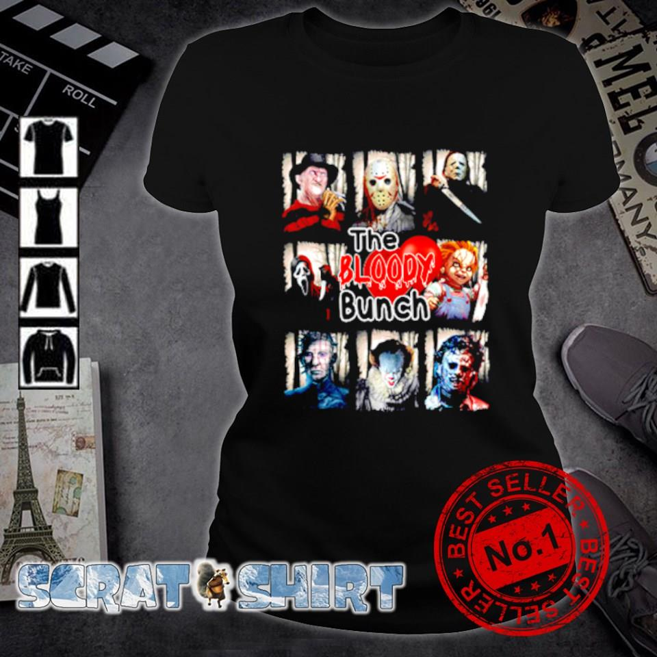 Horror characters the bloody bunch s ladies-tee