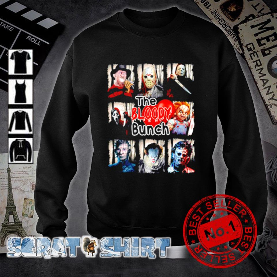 Horror characters the bloody bunch s sweater