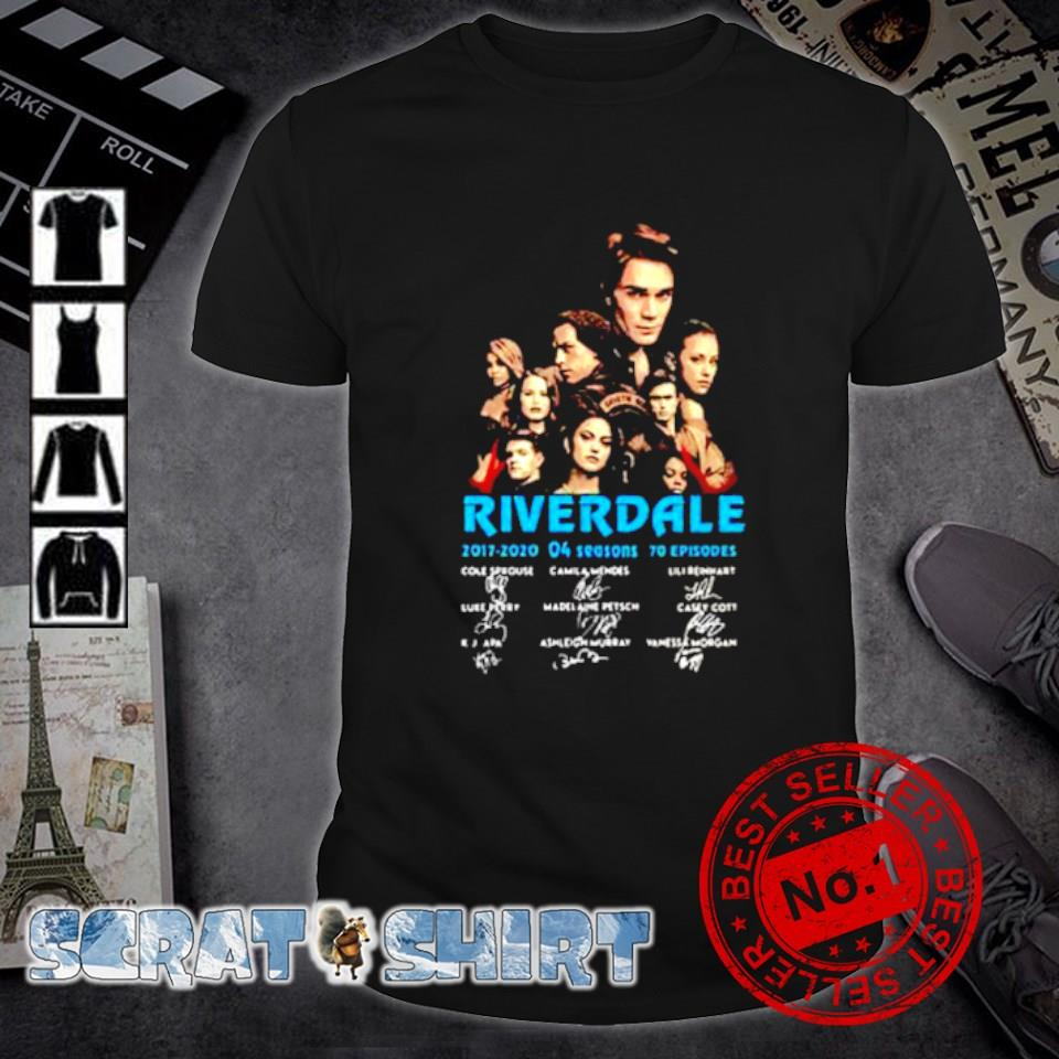 Riverdale 2017 2020 4 seasons signature shirt