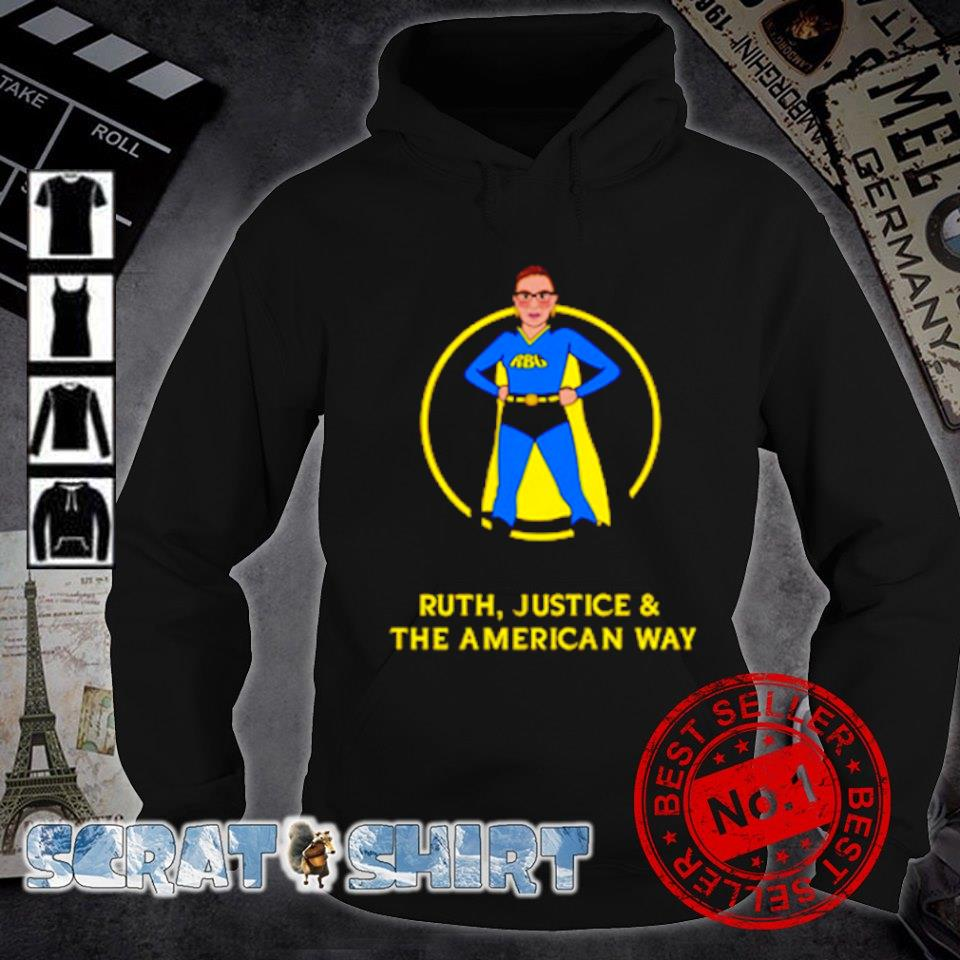 Superhero Ruth Bader Ginsburg Ruth justice and the American way s hoodie