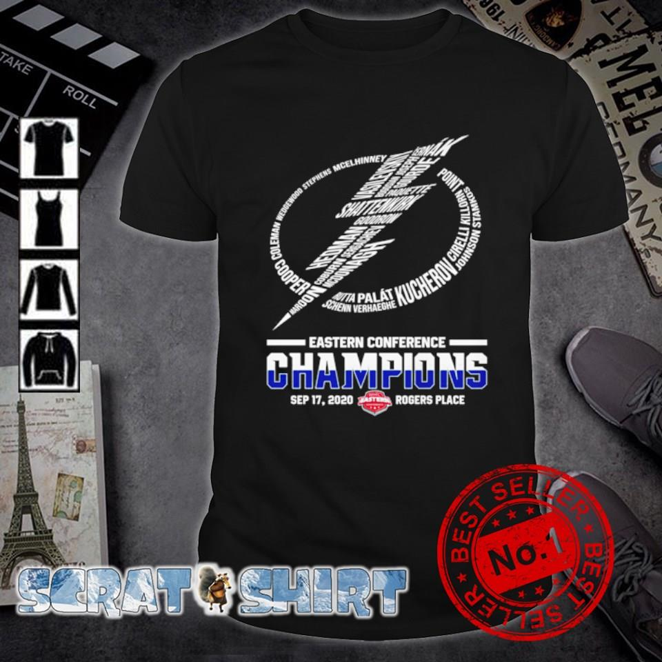 Tampa Bay Lightning Eastern Conference Champions shirt