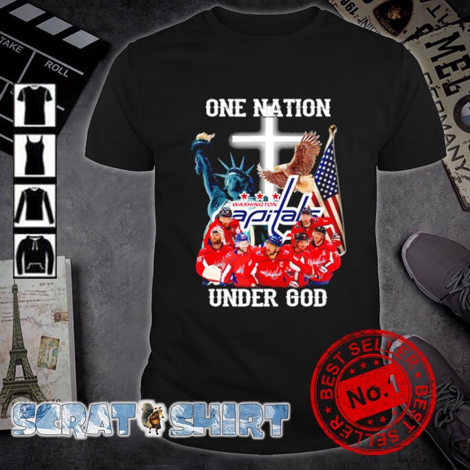 Washington Capitals one nation under God shirt