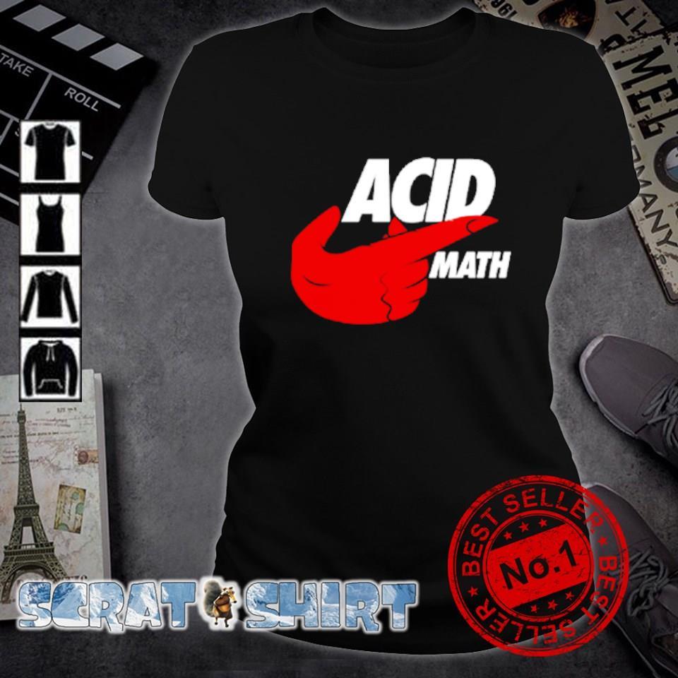 ACID math s ladies-tee