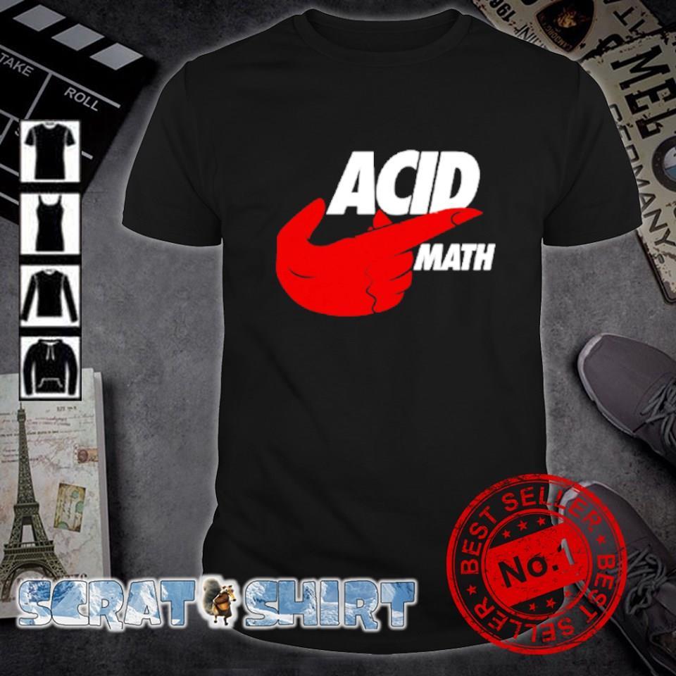 ACID math shirt