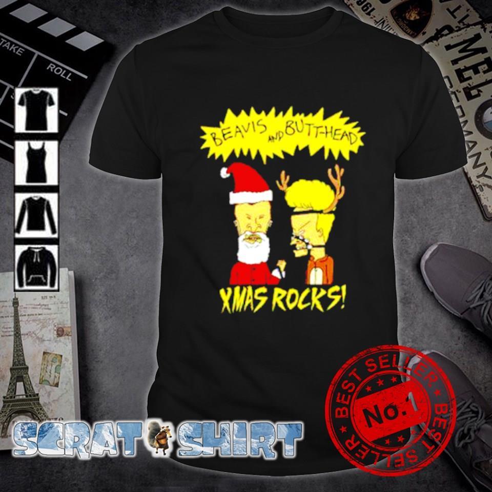 Beavis and Butthead xmas rocks Christmas shirt