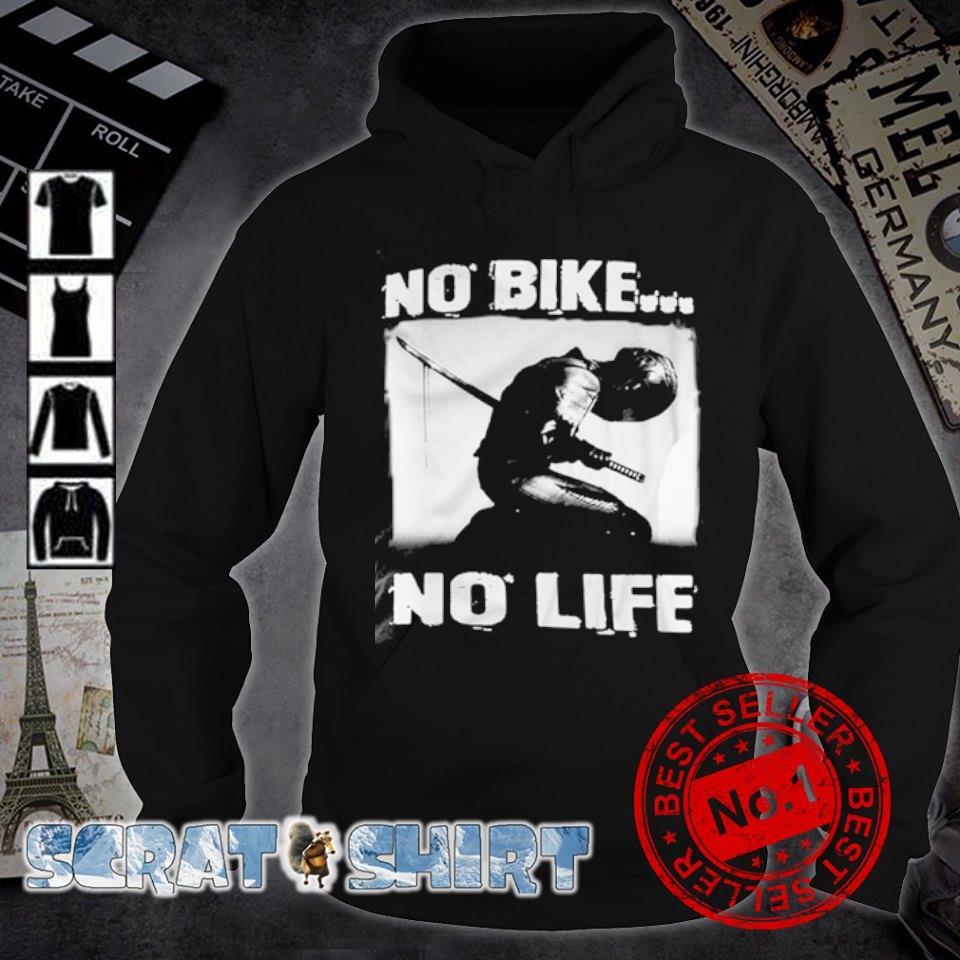 biker no bike no life s hoodie