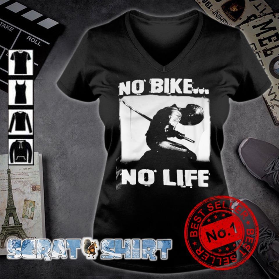 biker no bike no life s v-neck t-shirt