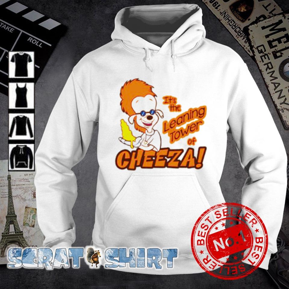 Bobby Zimmeruski it's the leaning tower of cheeza s hoodie