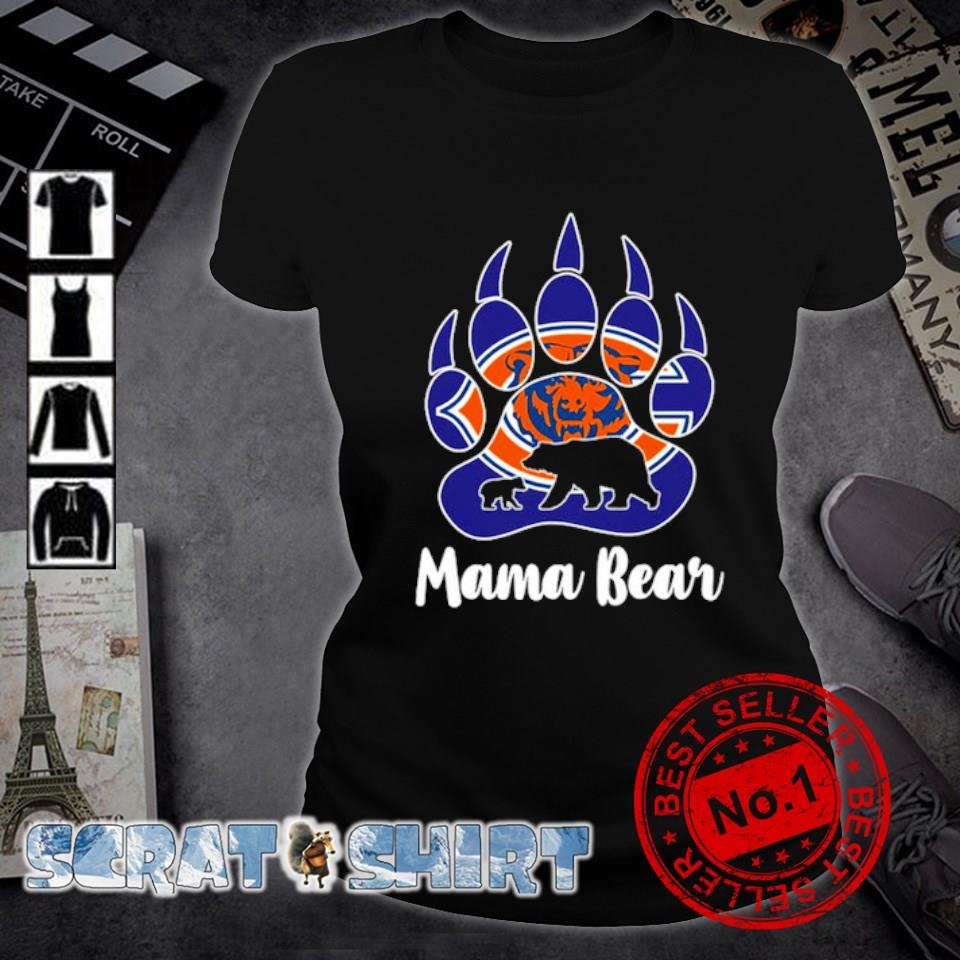 Chicago Bears Mama bear s ladies-tee