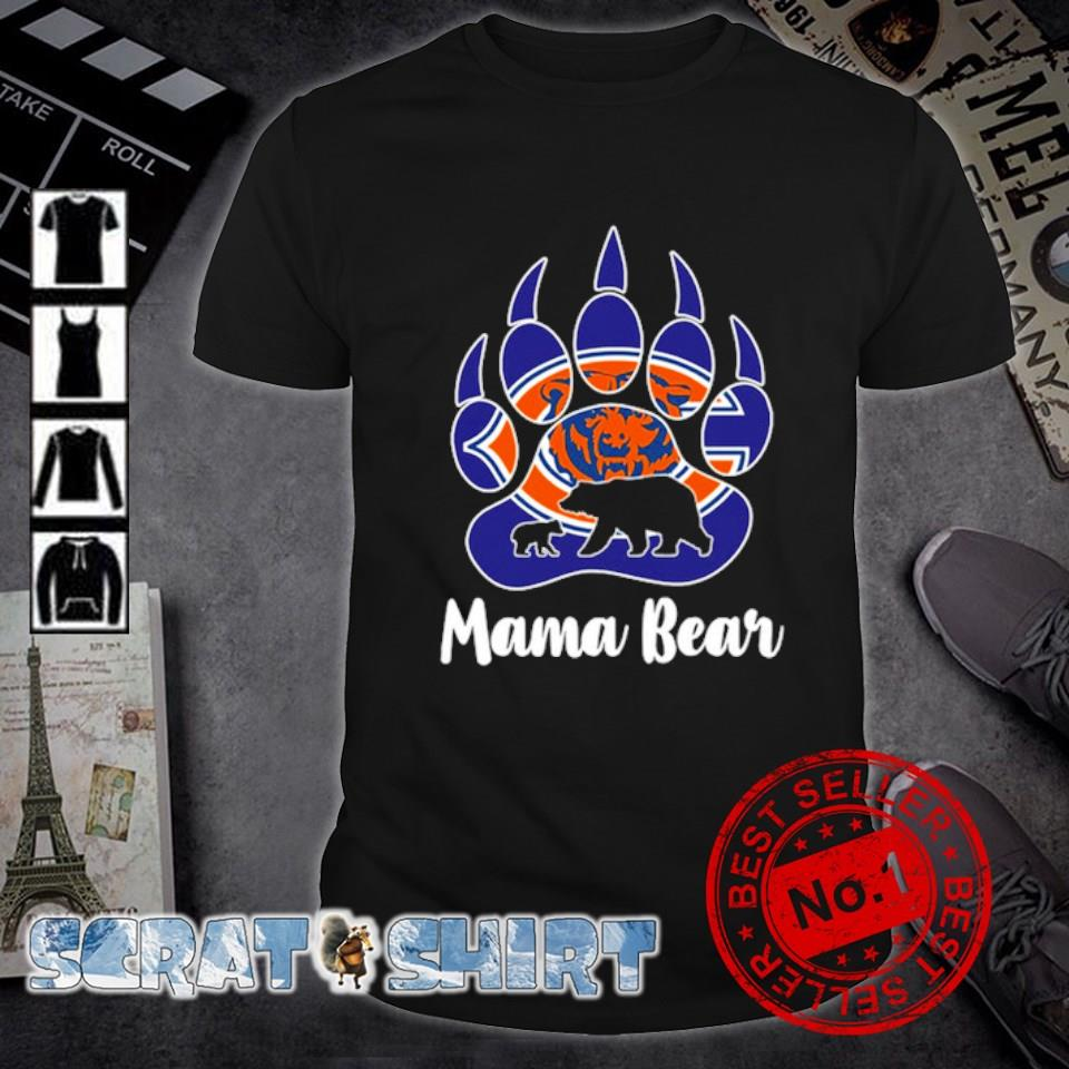 Chicago Bears Mama bear shirt