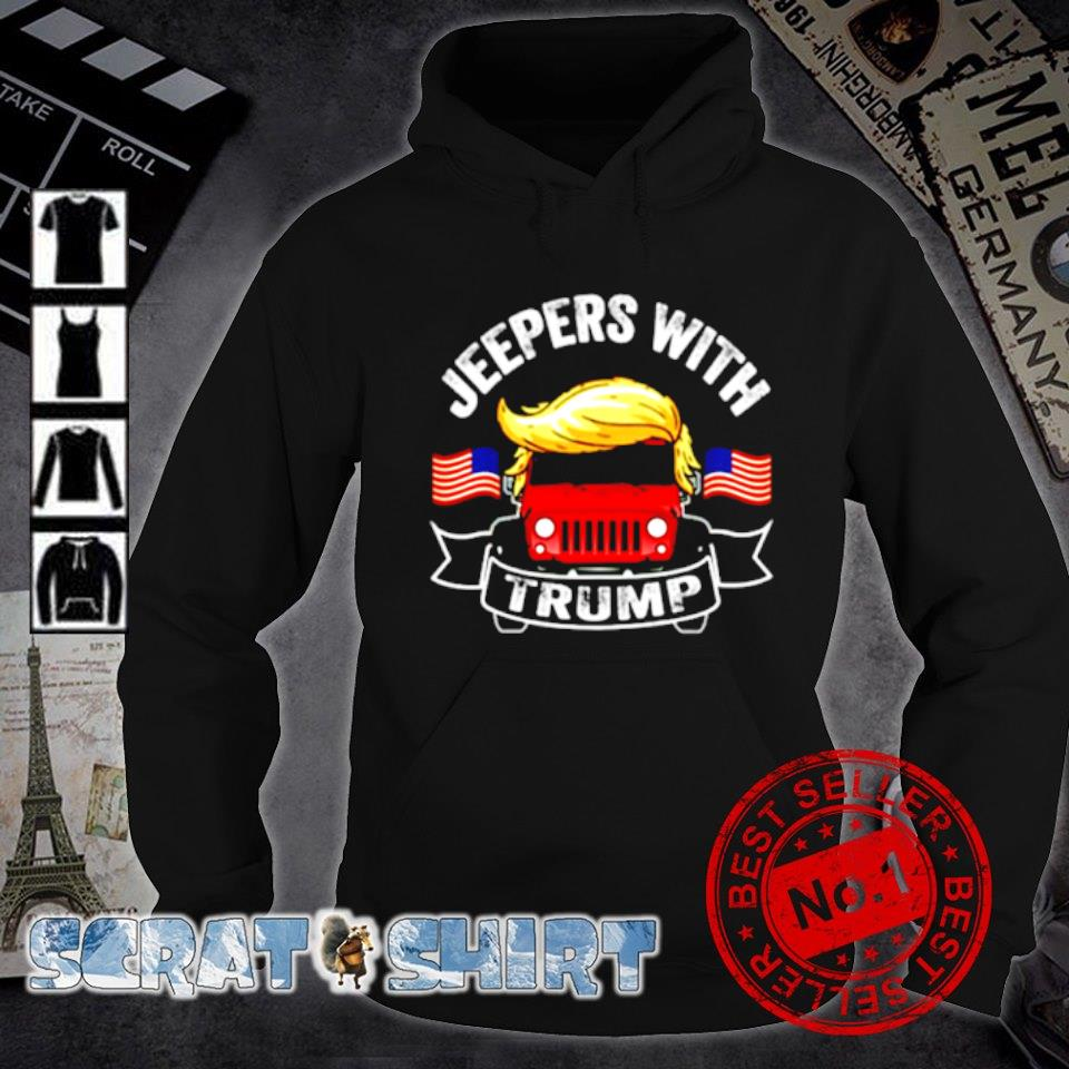 Jeepers with Trump s hoodie