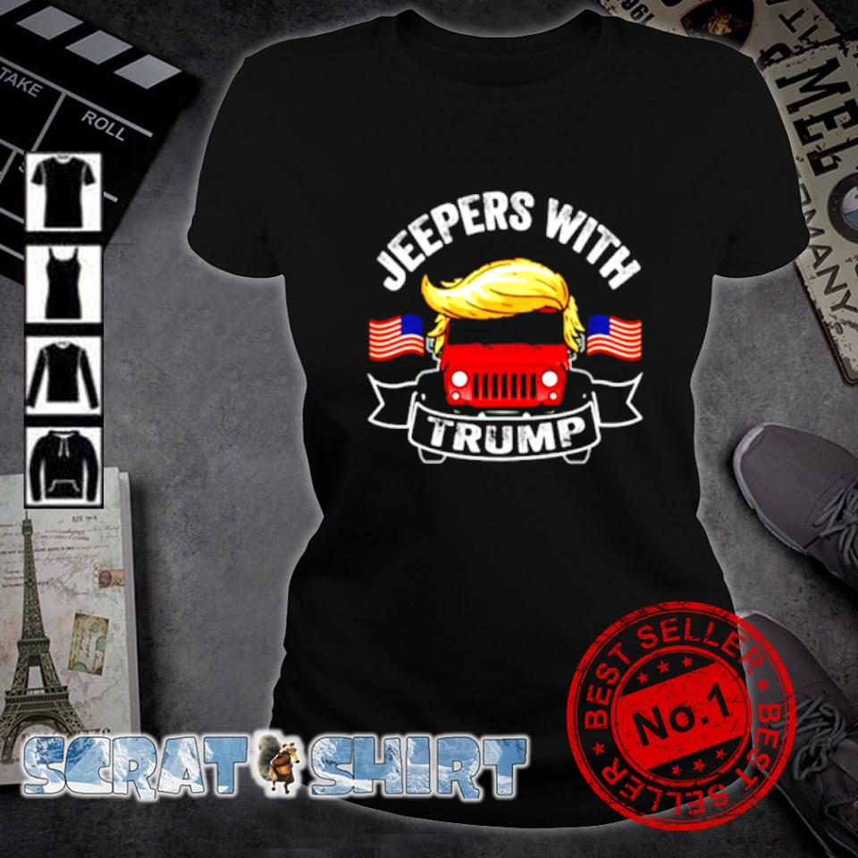 Jeepers with Trump s ladies-tee