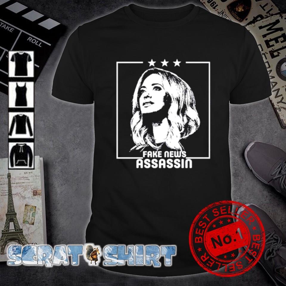Kayleigh McEnany fake news assassin shirt