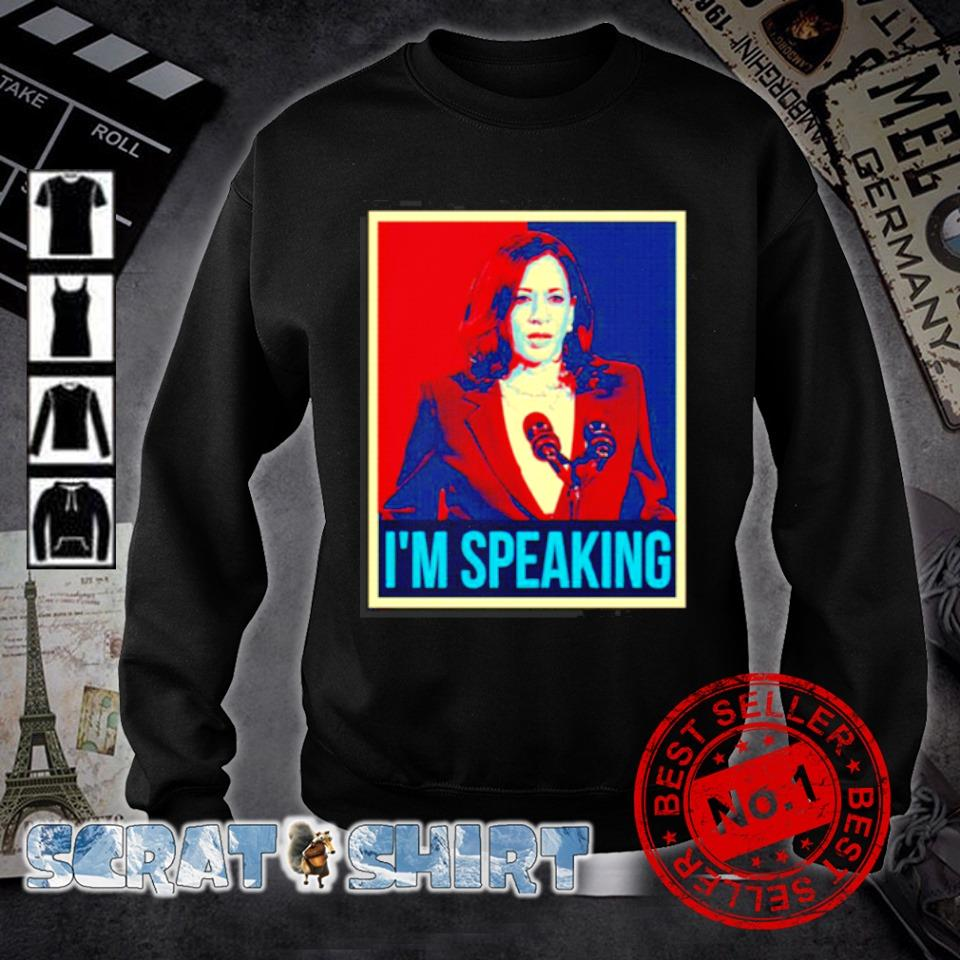 Mr Vice president I'm speaking s sweater