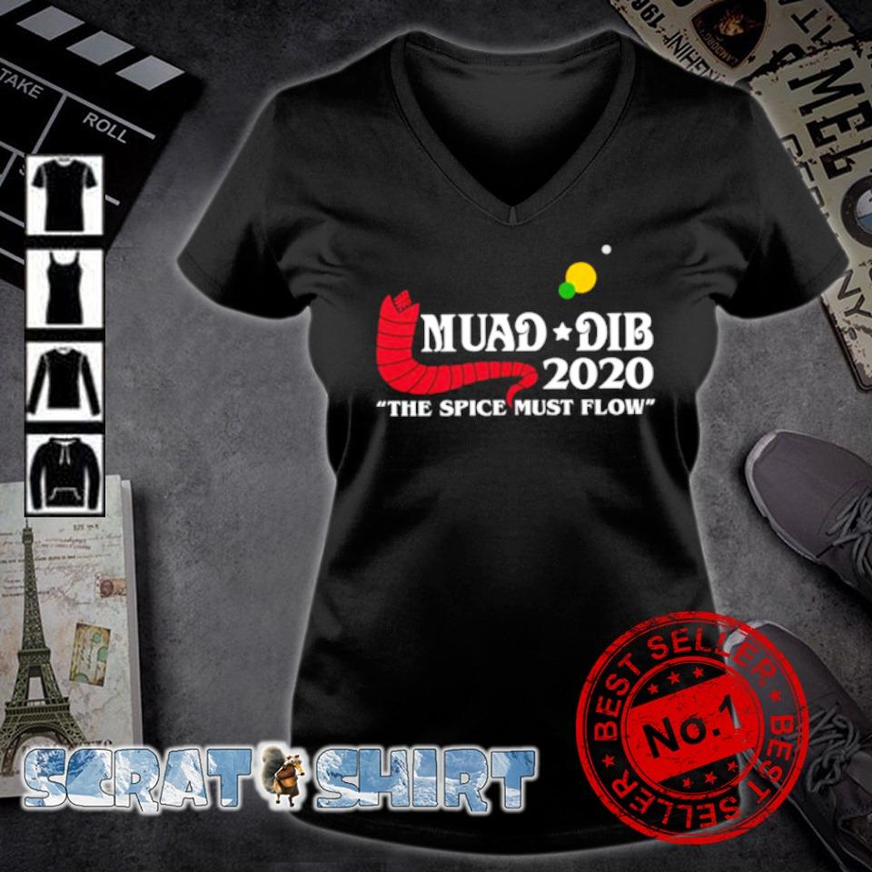 Muad dib 2020 the spice must flow s v-neck t-shirt