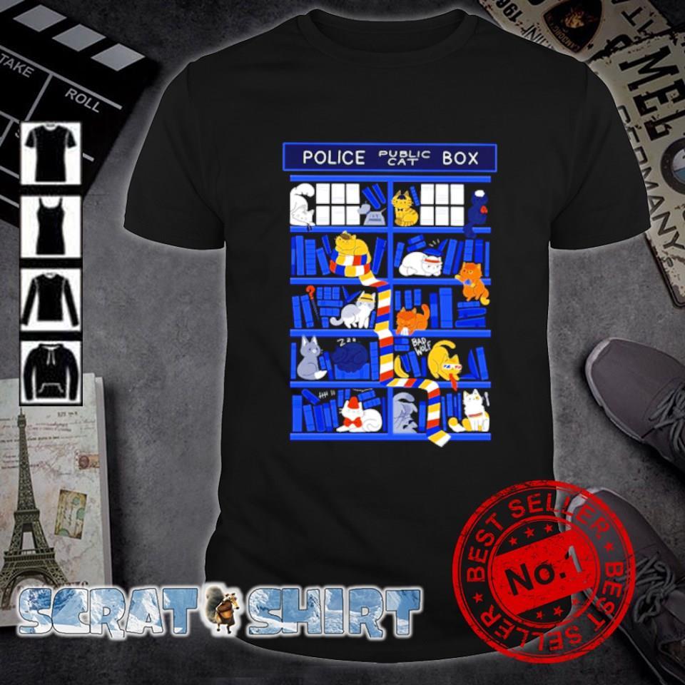 Police Box public cat shirt